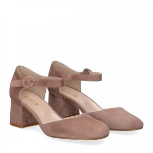 Il laccio sandaliera camoscio
