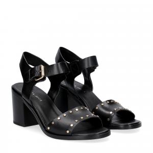 Janet & janet sandalo nero con borchie