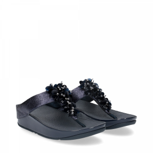 Fitflop boogaloo toe post blu