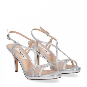 Nina new york sandalo blossom silver