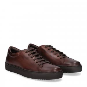 Griffi's sneaker vitello marrone