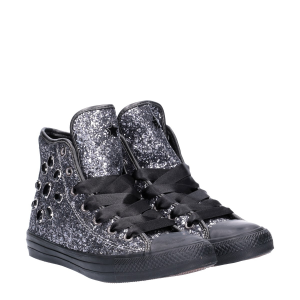Converse All Star Hi Limited black Jewels glitter