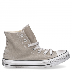Converse All Star HI Canvas LTD Old Silver Smoke