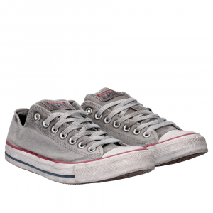 Converse All Star Limited Edition Low canvas optical white smoke donna