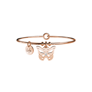 KIDULT-Farfalla/Carpe Diem-Bracciale da donna
