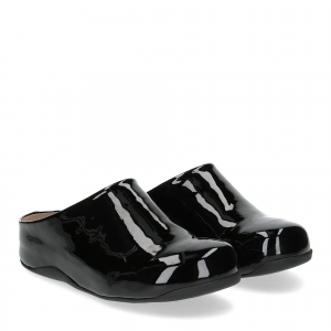 Fitflop Shuv patent black