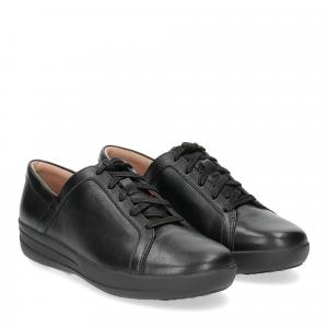 Fitflop F-Sporty II lace up sneaker pelle nera