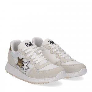 2Star Running bianco oro