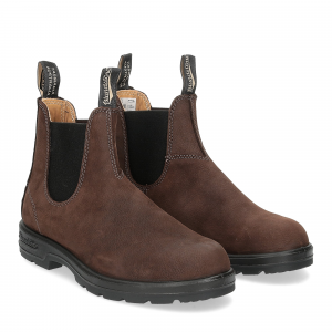 Blundstone 1606 brown nabuk pebble