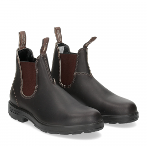 Blundstone 500 stout brown woman