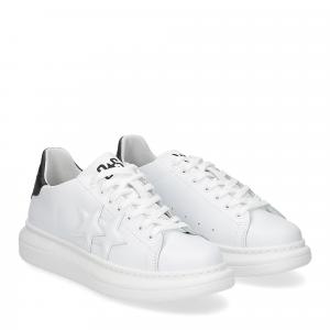 2Star 2691 sneaker low bianco nero