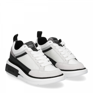 Panchic P07W suede purity black white