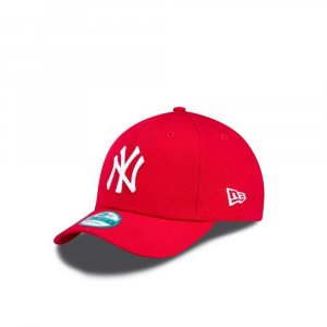 New Era Cappello Basic Neyy Red Unisex