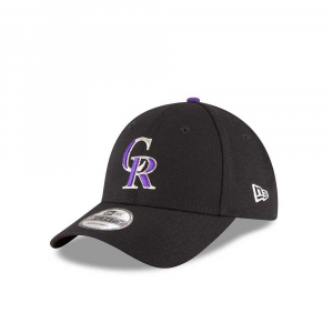 New Era Cappello Colorado Rockies Black Unisex