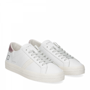 D.A.T.E. Hill Low vintage calf white pink