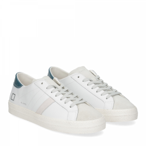 D.A.T.E. Hill low vintage calf white blue
