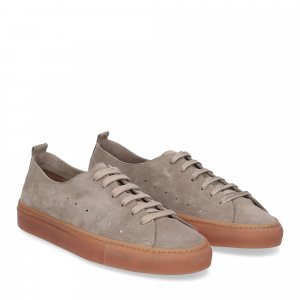 Griffi's sneaker 1097 camoscio taupe