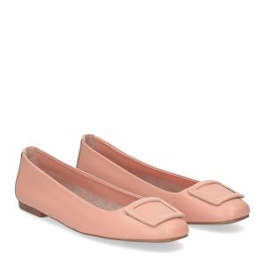 Il Laccio ballerina 18107 fibbia pelle rosa