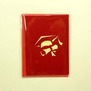 Mini biglietto Origamo cappellini laurea