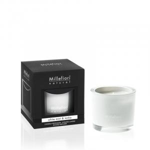 Candela Millefiori White Mint e Tonka