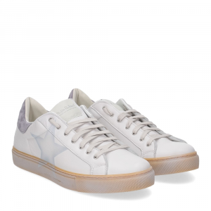 Nira Rubens martini sneaker bianca stella denim