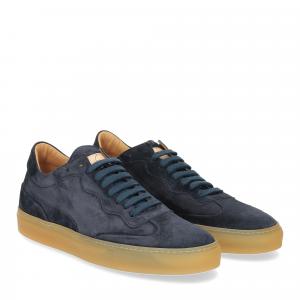 Corvari Sneaker Camoscio blu