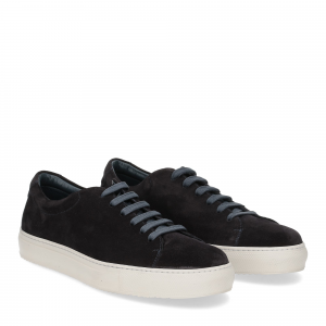 Griffi's sneaker camoscio blu