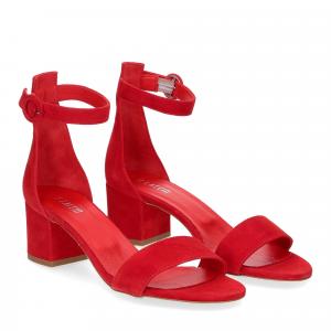 Il laccio Sandalo 669 camoscio rosso
