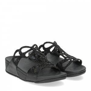 Fitflop Bumble Crystal slide black