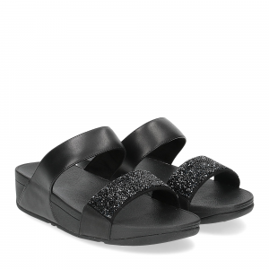 Fitflop Sparklie Crystal slide black