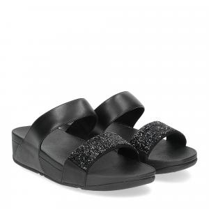 Fitflop Sparklie Crystal slide black