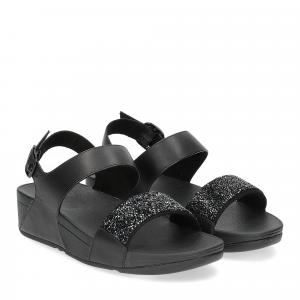 Fitflop Sparklie Crystal Sandal black