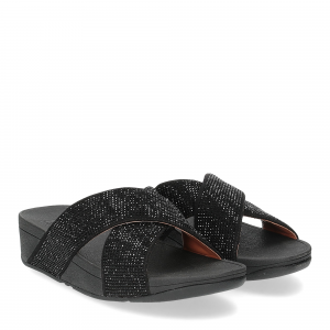 Fitflop lulu cross slide black