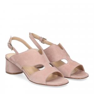 Andrea Schuster sandalo camoscio rosa
