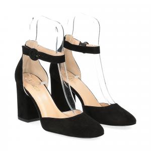 Il laccio sandaliera nera