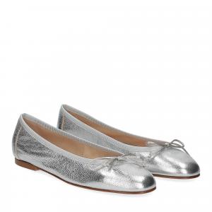 Micina Ballerina G700SF pelle laminata argento