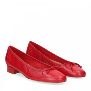 Micina Ballerina L1010SF nappa rossa