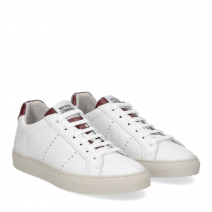 National Standard Sneaker white cremisi