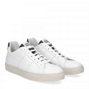 National Standard Sneaker white whine
