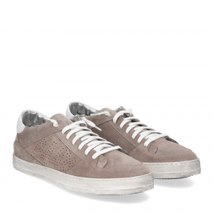 P448 Queens Taupe suede