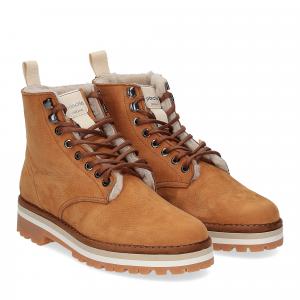 Panchic Ankle boot nubuk lining shearling
