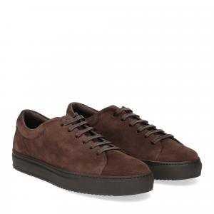 Griffi's sneaker 732 camoscio marrone