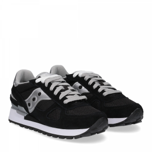 Saucony Shadow Original black silver woman