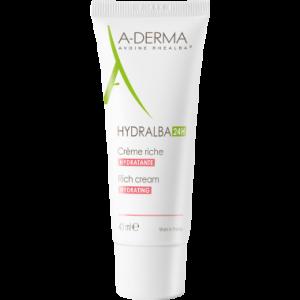 A Derma Hydralba 24h Crema Ricca 40 ml