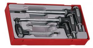 Serie chiavi maschio torx piegate con impugnatura TengTools TTTX7