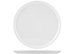 Piatto pizza in porcellana bianca cm33