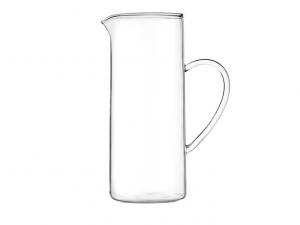 Brocca cilindrica in vetro 1,2lt