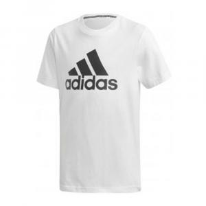 Adidas T Shirt Logo White Junior