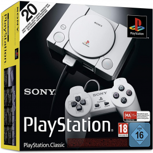 Sony Playstation Classic Mini - Console + 2 Controller