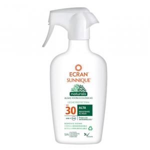 Ecran Sunnique Naturals Protective Milk Spf30 Spray 300ml